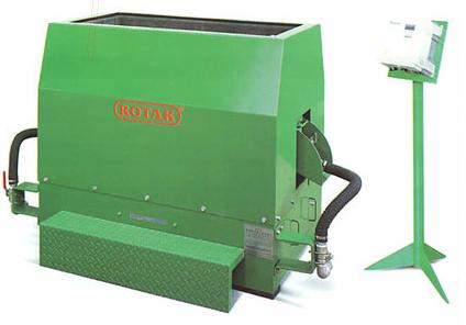 Галтовочные вибрационные машины лоткового типа Rotar