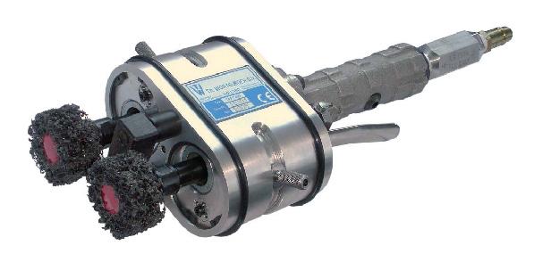 Переносные пневматические машины для зачистки торцев труб TPP 5090