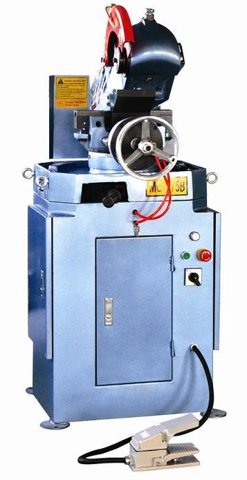 Полуавтоматическая пневматическая циркуляционная отрезная пила серии MC-275В