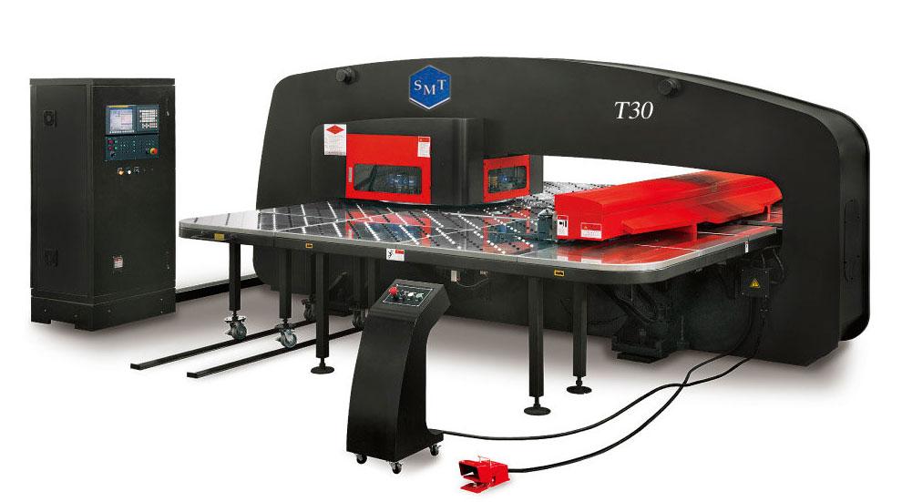Гидравлический координатно-вырубной пресс c ЧПУ модель Т-30