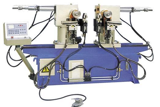 Трубогибочные гидравлические полуавтоматические двухголовочные станки HEFENG серии SW и SW А