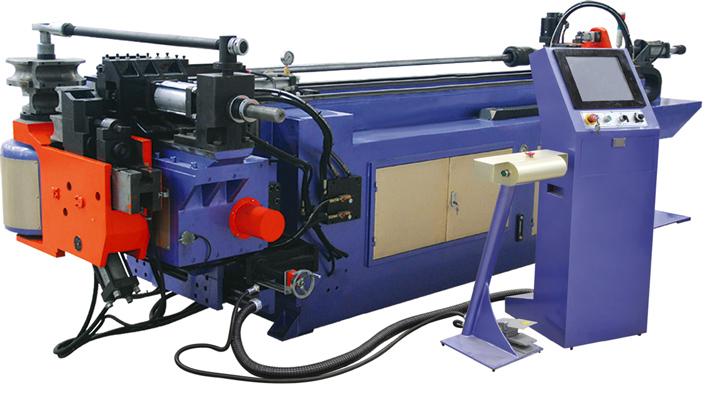 Автоматические трубогибы с проталкиванием серии CNC