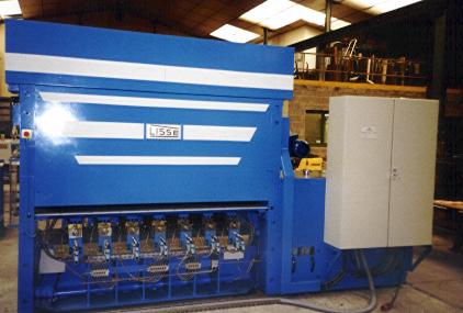 Тяжелое высокоточное листоправильное оборудование Lisse