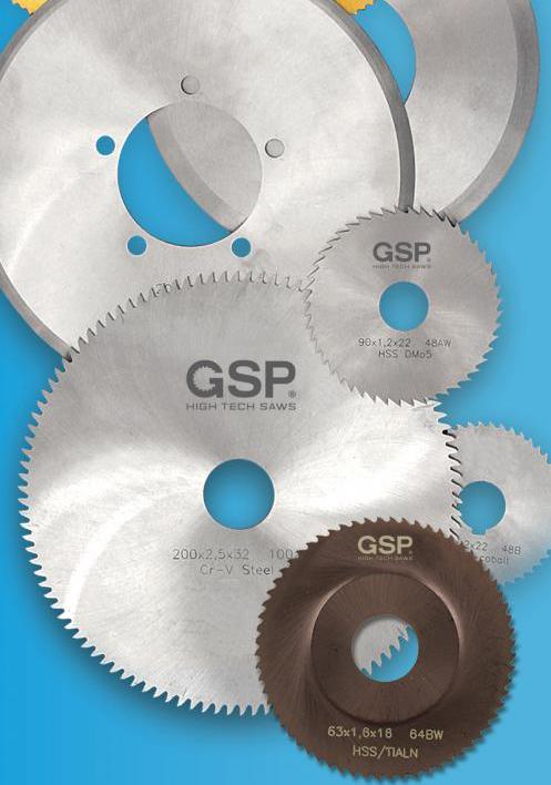 Дисковые отрезные фрезы GSP